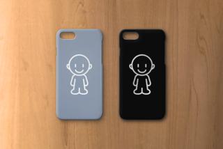 白黒キッパリの潔さとグレーの包容力。新色はモノクロライン iPhone7case/ブラックorグレー